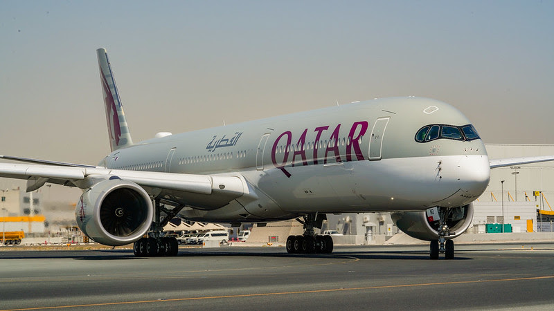 Airbus A350 Qatar Airways
