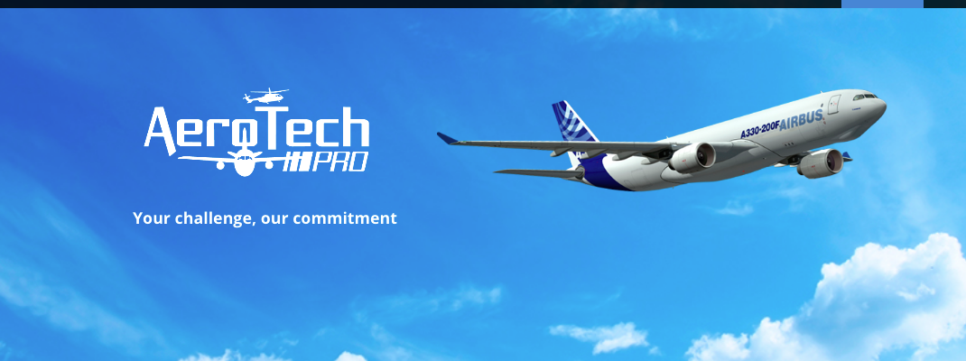 AeroTech Pro homepage